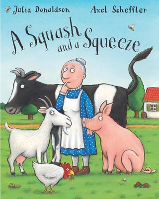 Book cover for Squash and a Squeeze Big Book